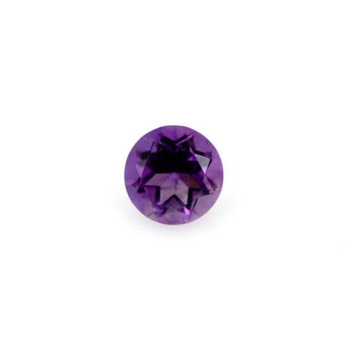 Details about  /Purple Amethyst 7mm Round Loose Gemstone Regular Cut