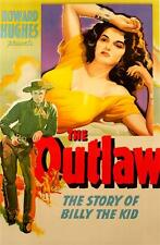 The Outlaw Fine Art Movie Poster Lithograph Jane Russell ReSociety Ltd Edition
