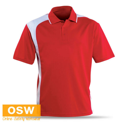 UNISEX POLO SPORTS OFFICE GYM ASYMMETRICAL COOL DRY BREATHABLE UNIFORM SHIRT