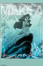"The Littler Mermaid Splash Ariel Movie Poster Print 22x34"" Disney"