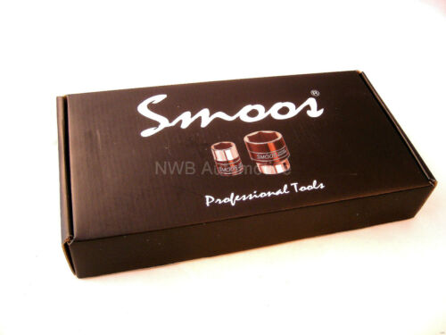 "16 Pc Set UK STOCK 1//4/"" Drive Socket Set Quality Smoos Tools 72 Tooth Ratchet"