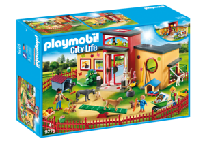 Playmobil Playmobil Playmobil 9275 Pet Hotel Tiny Paws Pet Hotel 05773b