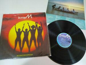"Boney M Boonoonoonoos 1981 Ariola Spain Edition - LP vinyl 12 "" VG/VG"