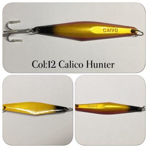 TUNA YELLOWTAIL CAIVO SURFACE IRON JIGS Col:12 CALICO HUNTER MORE!!