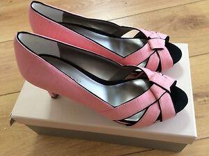 con dettagli neri Coral Size Shoes Vert 5 Elegant Jacques Nwt Peach qxvz8Tw0n