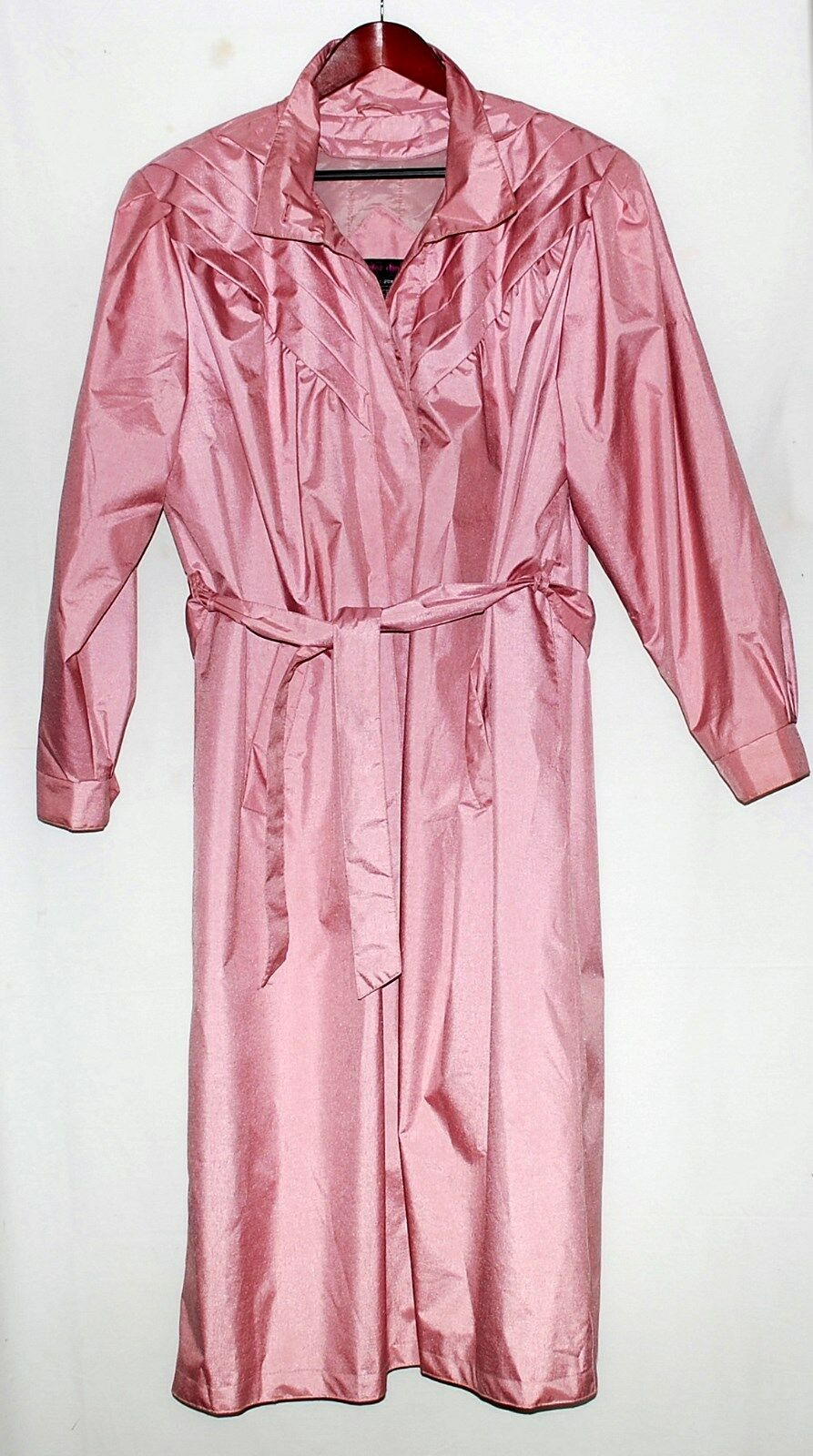 Peter Daniels Pink Womens Belted Coat w  Quilted Quilted Quilted Zip Out Liner Plus Sz 20W NWOT 87222f