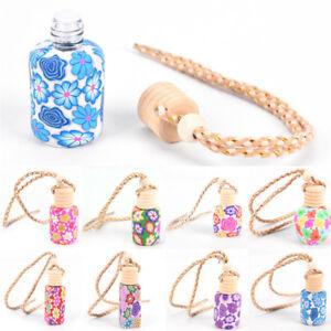 Floral-Printed-Hanging-Car-Air-Freshener-Perfume-Diffuser-Fragrance-Bottle-HOT