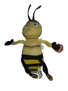 Details about ** L@@K ** Bee Movie BARRY Bumble Bee Plush 12
