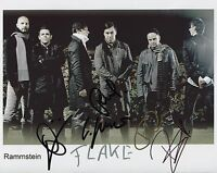 Rammstein FULLY  SIGNED Photo 1st Generation PRINT Ltd No'd + Certificate / 2