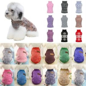 Dog-Winter-Warm-Sweater-Small-Pet-Coat-Clothes-Puppy-Cat-Jacket-Apparel-Costume