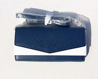 Navy Jet Set Travel Womens' Wallet On A Chain Shoulder Crossbody Bag