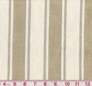 Image Is Loading 100 Linen Golding Angelina Gray Er Woven Stripe