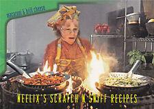 Star Trek Voyager Season 1 Series 2 Neelix's Scratch N Sniff Recipes Card R5