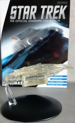 Star Trek U.S.S Defiant nx-74205 Cloaked Starship Convention Exclusive EAGLEMOSS