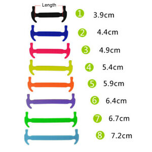 16x-LAZY-NO-TIE-ELASTIC-SILICONE-SHOELACES-FOR-SNEAKERS-RUNNING-SHOES-BOOTS-Atom