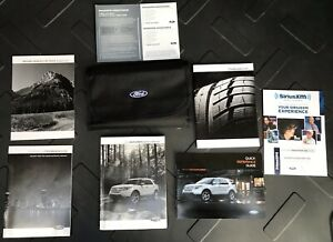 free shipping OEM 2014 FORD EXPLORER OWNERS MANUAL Motors Vehicle ...