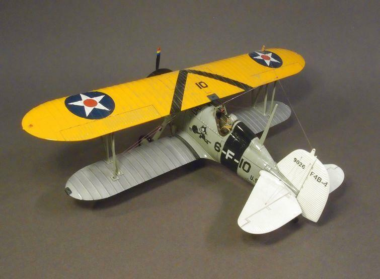 IWA -10 - Boeing P -12  F4B - Inter War Aviation - John Jenkins