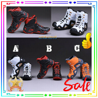 "VSTOYS Climbing Boots Solid Shoes Orange 1//6 Scale For 12/"" Action Figure C type"