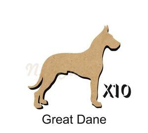 10 Great Dane MDF découpes Porte-clés-enjoliver 5 Tailles Sans Trou dogw 137-ishing 5 SiZES FREE Hole DOGW137afficher le titre d`origine QlccDifY-07222947-370531669