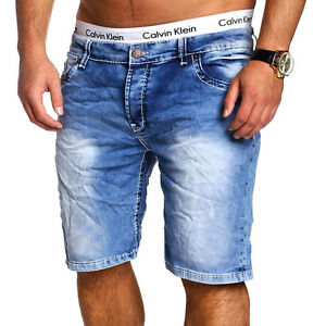 herren jeans bermuda shorts jeansshorts kurze chino hose. Black Bedroom Furniture Sets. Home Design Ideas