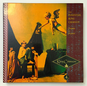 Frame-by-Frame-The-Essential-KING-CRIMSON-Box-4-CD-Set-1991-RARE-EG-KC-BOX-1