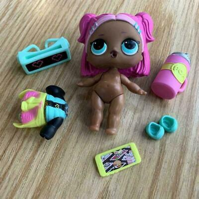 LOL Surprise Confetti Pop VRQT Series 3 L.O.L V.R.Q.T Complete Authentic Doll