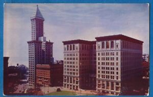 Smith-Tower-Court-House-And-City-Hall-Downtown-Seattle-Washington