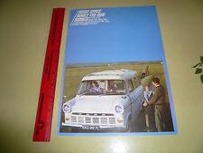 English Ford Transit 17 CWT Sales Brochure - Caravan Conversion