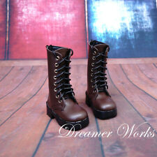 1//4 BJD Shoes MSD Dollfie DREAM student brown shoes Dollmore AOD DOD SOOM MID DZ