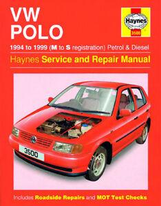 haynes workshop repair manual vw polo 94 99 ebay rh ebay co uk workshop manual vw polo 2002 vw polo repair manual free download