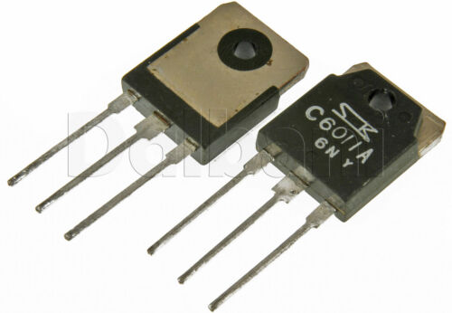 2SC6011A Original Pulled Sanken Silicon NPN Power Transistor C6011A