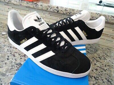 Adidas Originals Gazelle Shoes ~Black/White~ Men's Size 11.5 (BB5476) 889768179933 | eBay