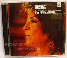SPANKY WILSON & THE QUANTIC SOUL ORCHESTRA - I'M THANKFUL - CD Nuovo