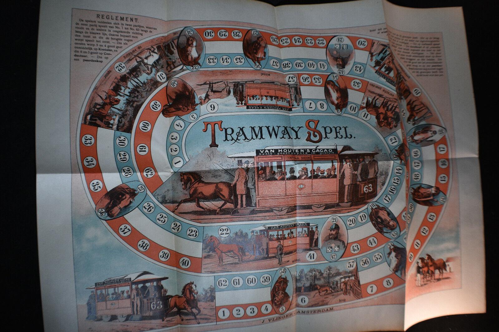 Ca 1890 Tramway Game 'Tramspel'