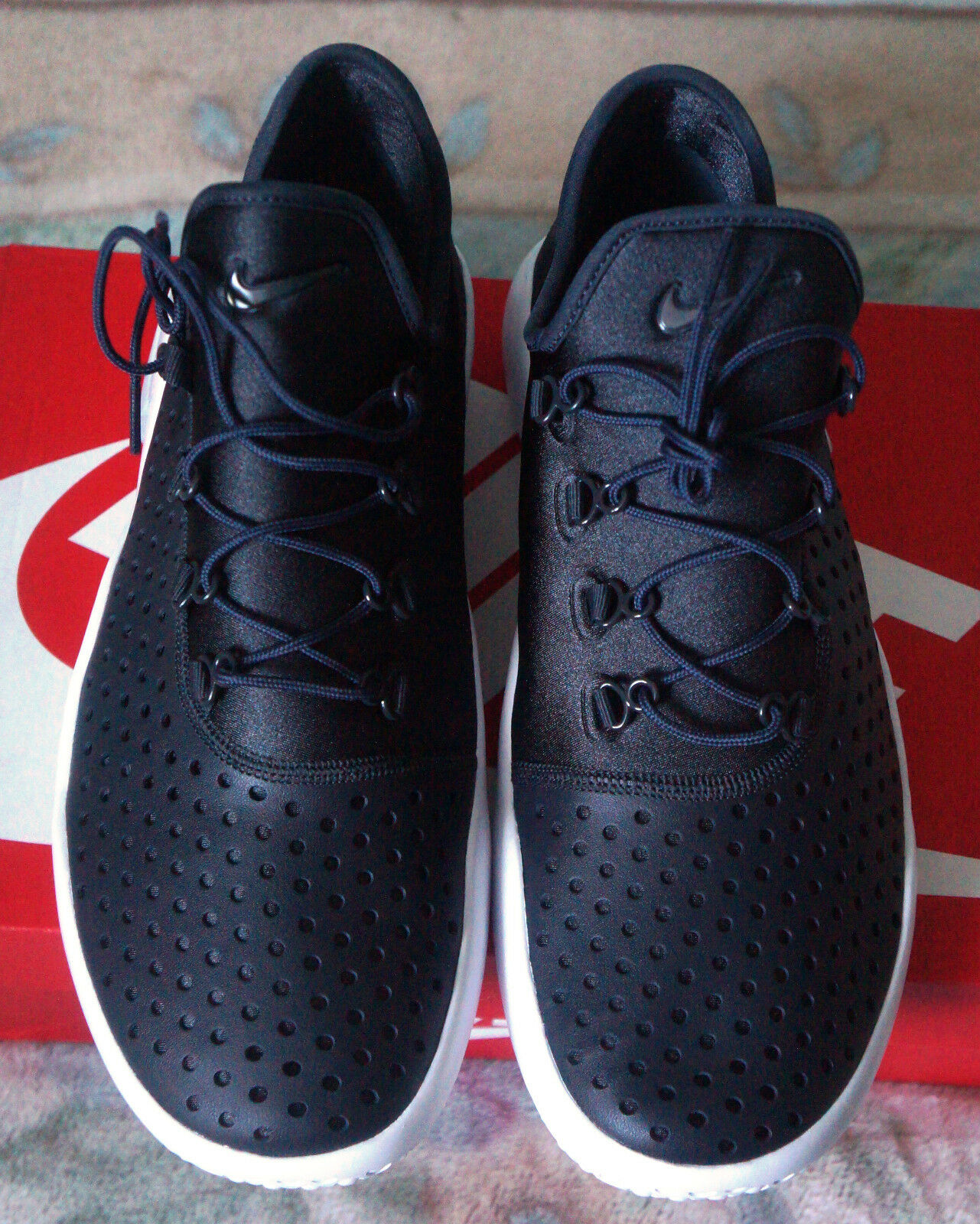 reputable site 03f83 4b996 ... Brand New Nike FL-RUE Mens Mens Mens Running Trainers in  Black Anthracite Size ...