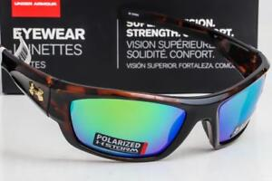 56ea4dda05 Image is loading NEW-UNDER-ARMOUR-FORCE-SUNGLASSES-Tortoise-frame-Green-