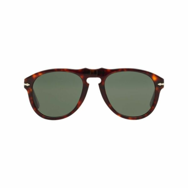 d85acd8b21f Persol Pilot Sunglasses PO 649 24 31 Havana Crystal Grey 52 Mm Made in  Italy for sale online
