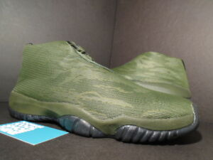 wholesale dealer 18153 6d3fb Details about Nike Air Jordan FUTURE XI 11 CAMOUFLAGE CAMO SEQUOIA OLIVE  GREEN BLACK GOLD 11