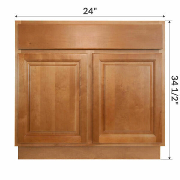 "24"" Bathroom Vanity Sink Base Cabinet Maple Richmond by ..."