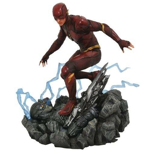Justice League Figure Movie Flash Barry Allen Gallery Statue