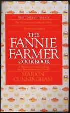 The Fannie Farmer Cookbook by Marion Cunningham (1994, Paperback, Revised)