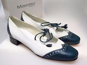 nuovo Maretto Chiaccio Italy 36 5840 Shoes Ascot 5 Designer Bleu Shoes gr wqPqBUx7
