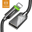 Mcdodo-For-Apple-iPhone-X-iPhone-8-7-USB-SYNC-Charger-Cable-Charging-Data-Cord thumbnail 1