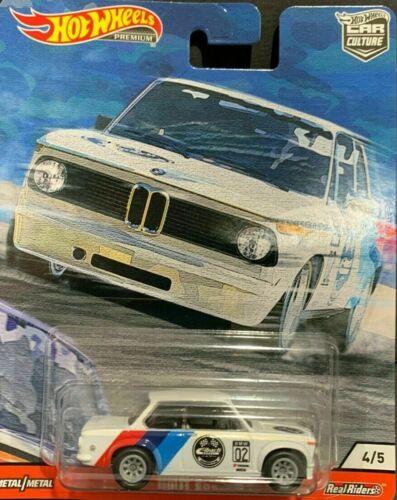 """Hotwheels voiture culture 2020 porte SLAMMERS 2002 Jantes en Alliage BMW Pneus en caoutchouc/"""",,"""