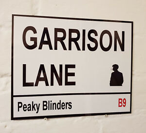 Peaky Blinders METAL BEER SIGN 2 Sizes Available The Garrison Man Cave Bar