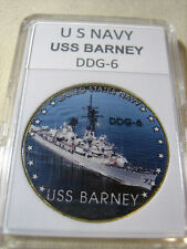 US NAVY - USS BARNEY (DDG-6) Challenge Coin