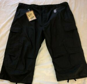 18e0e1dc3816 NWT Ultra Force Black Xtra Long Fatigue Short 2XL 43-47 WAIST | eBay