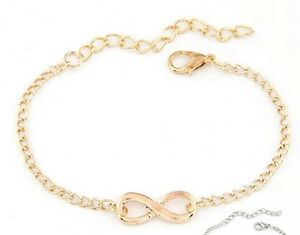 8 x Gold Infinity Bracelets Wholesale Joblot Ladies Jewellery Mothers Day A - Stockport, Cheshire, United Kingdom - 8 x Gold Infinity Bracelets Wholesale Joblot Ladies Jewellery Mothers Day A - Stockport, Cheshire, United Kingdom