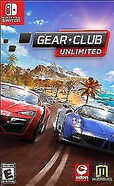 Gear Club Unlimited (Nintendo Switch, 2017) for sale online | eBay