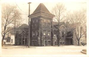 RPPC-Presbyterian-Church-Mount-Pleasant-Michigan-ca-1940s-Vintage-Postcard